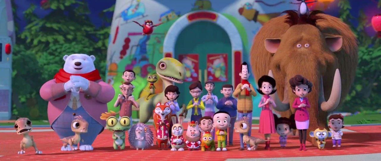 央视新春贺岁动画片即将首播                     大头儿子棉花糖带你开启梦世界旅程