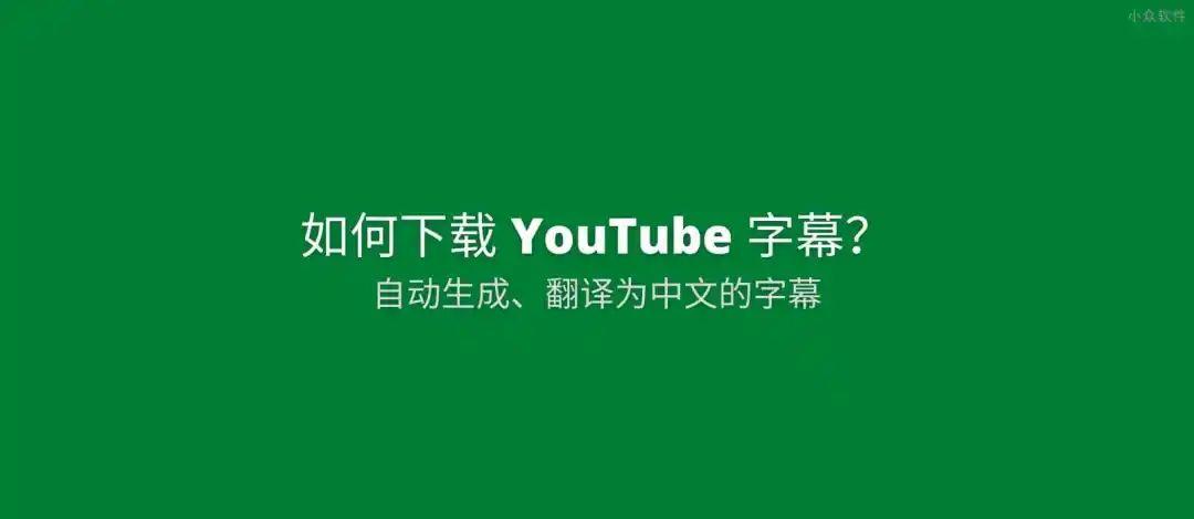 视频无国界,先自动生成字幕,再自动翻译字幕,完美