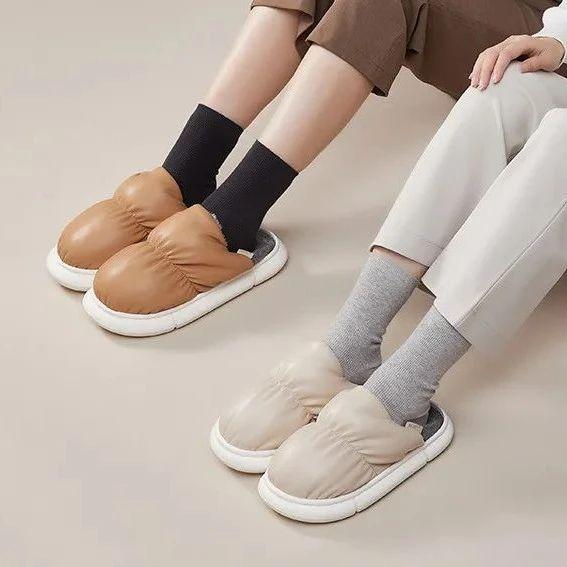 可以防水的棉拖鞋!防水、耐脏,还保暖,双脚比踩棉花还舒服!