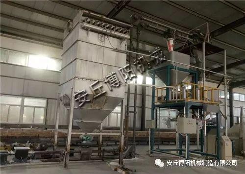 石灰粉吨袋包装机解决成本和效率两大问题