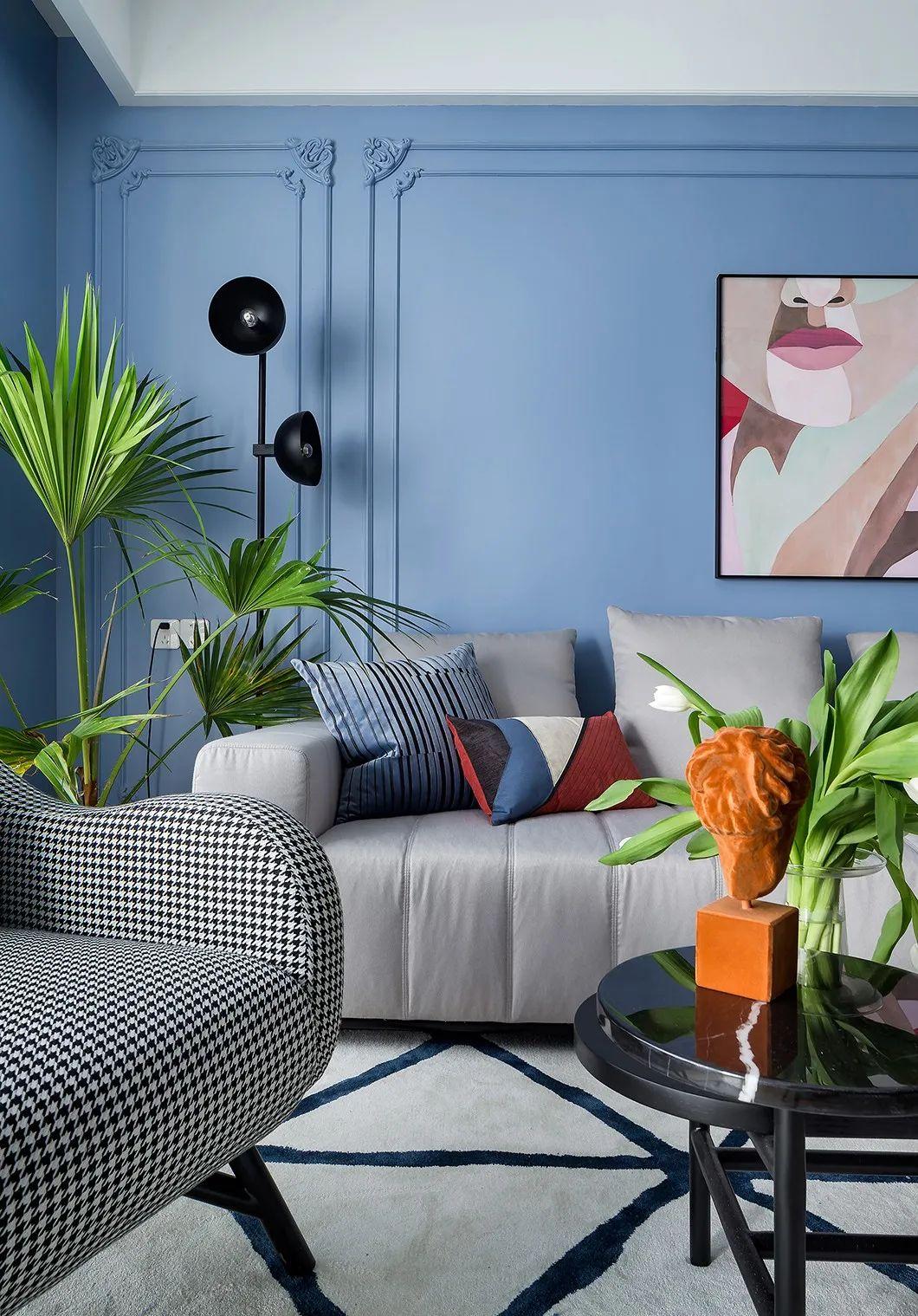 150㎡现代,通过异域风情的设计细节与搭配,让空间呈现出一种独特的艺术设计效果