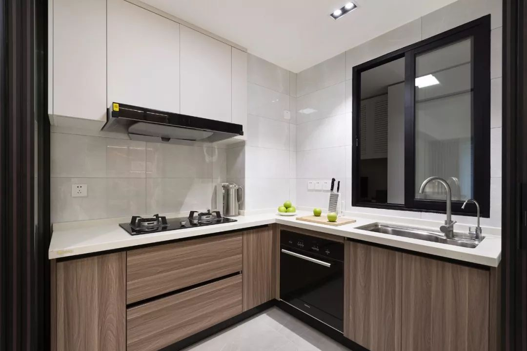 79平小户型二居室,紧凑老房变成宽敞小窝