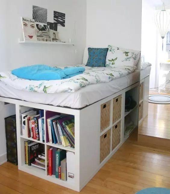 這樣裝臥室,床和衣櫃都省了!