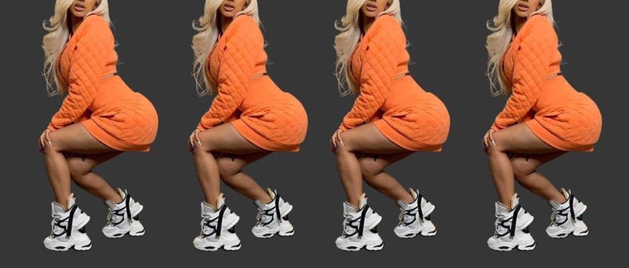 运动高跟鞋的鞋跟有多高,运动时尚风的极限就多高