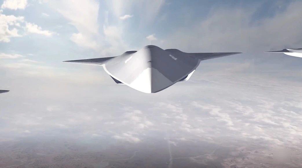 看看北美战忽局是怎么展示美国未来空中力量的吧!