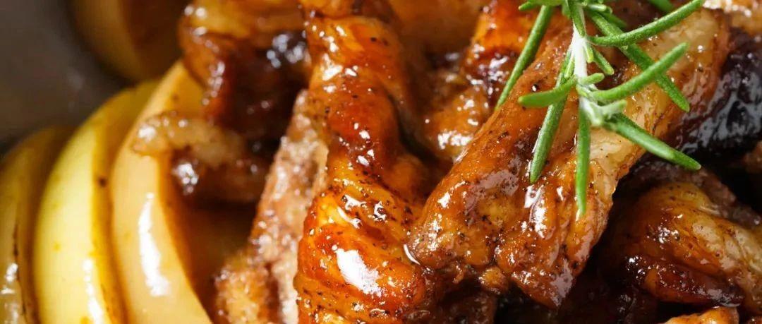 苹果烤肉,是暗黑料理还是神仙组合?