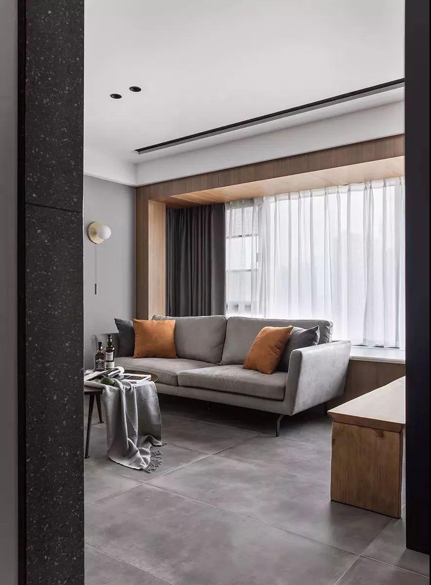 89㎡简约风2室2厅,电视墙巧妙设计出书房!