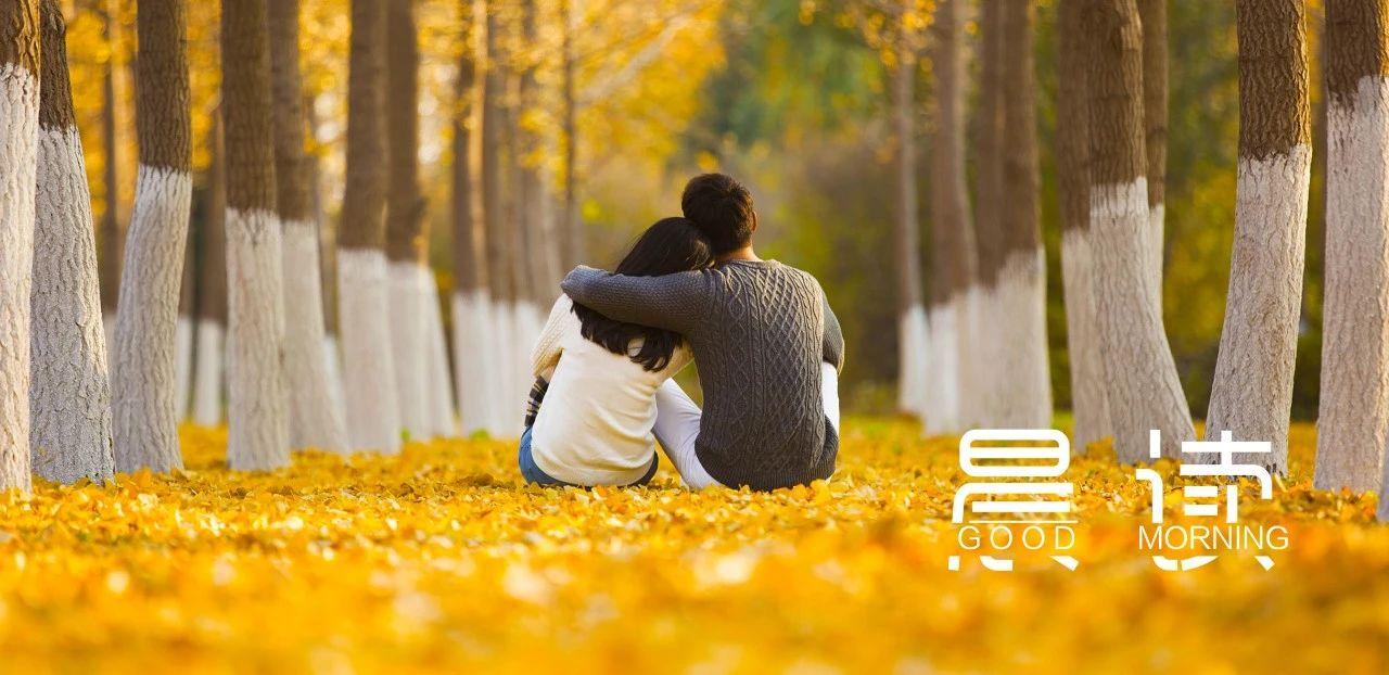 晨读丨最好的感情,是彼此需要