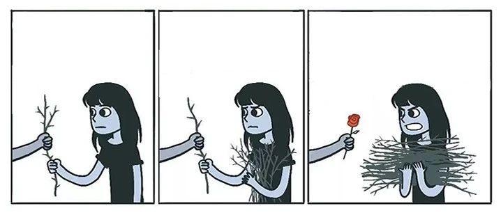 不喜欢一个人的我,却在人多的时候最沉默
