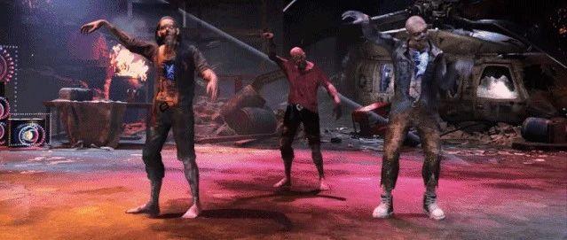 丧尸也会跳舞,你见过?