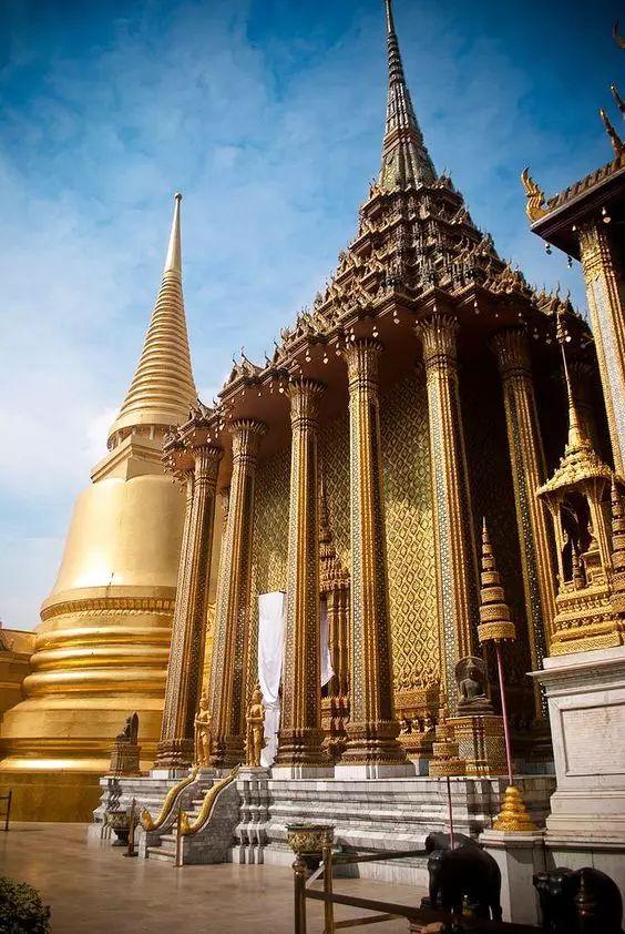 揭秘:泰国大皇宫全景!第一次见