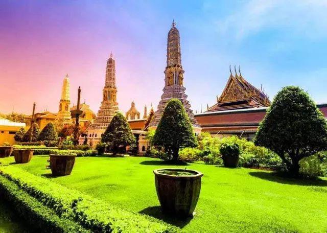 泰国大皇宫全景!第一次见!