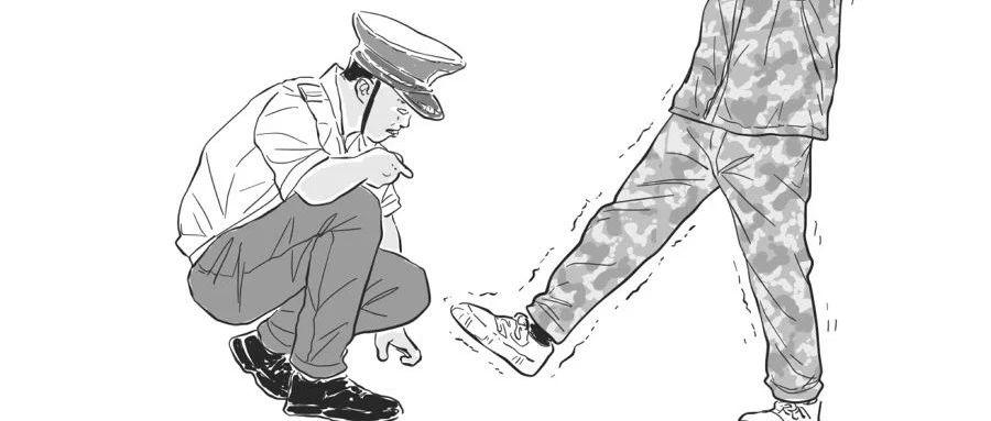 这是不是军训时候的你