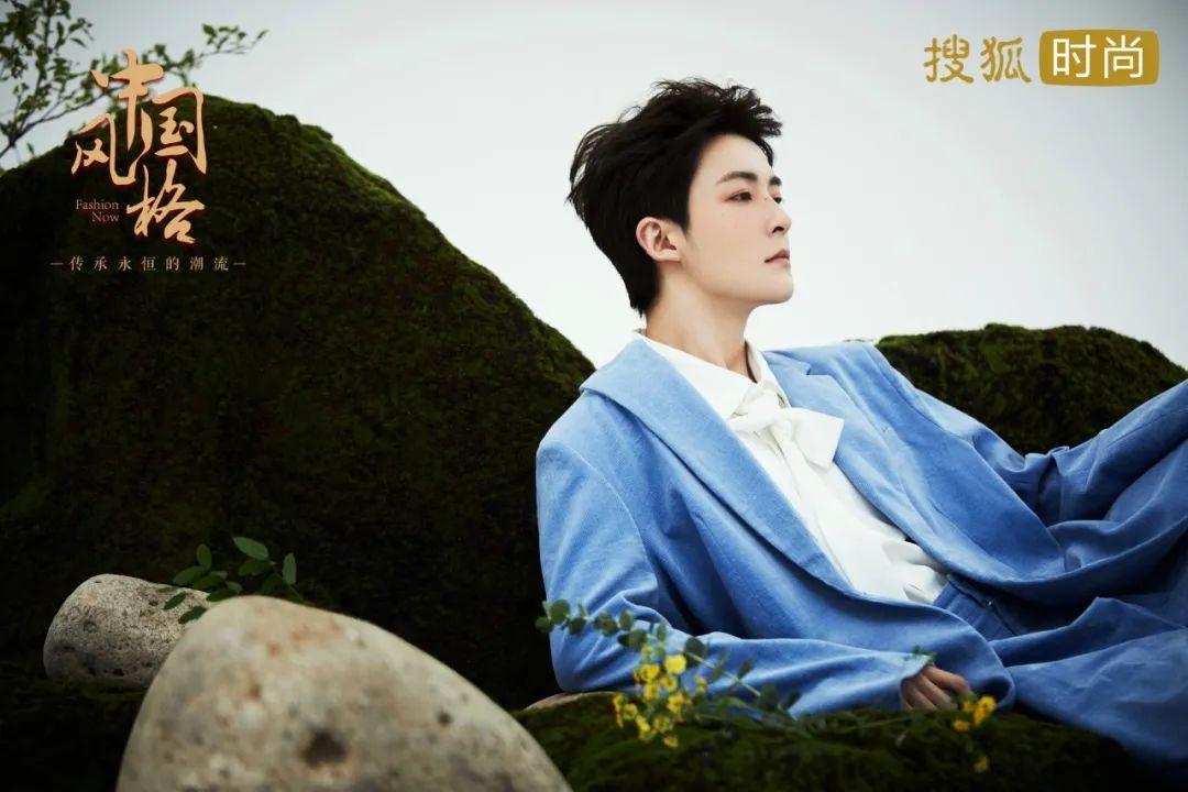 中国风格|都在模仿王菲的晒伤妆,偏偏这个男爱豆惊艳到我了!