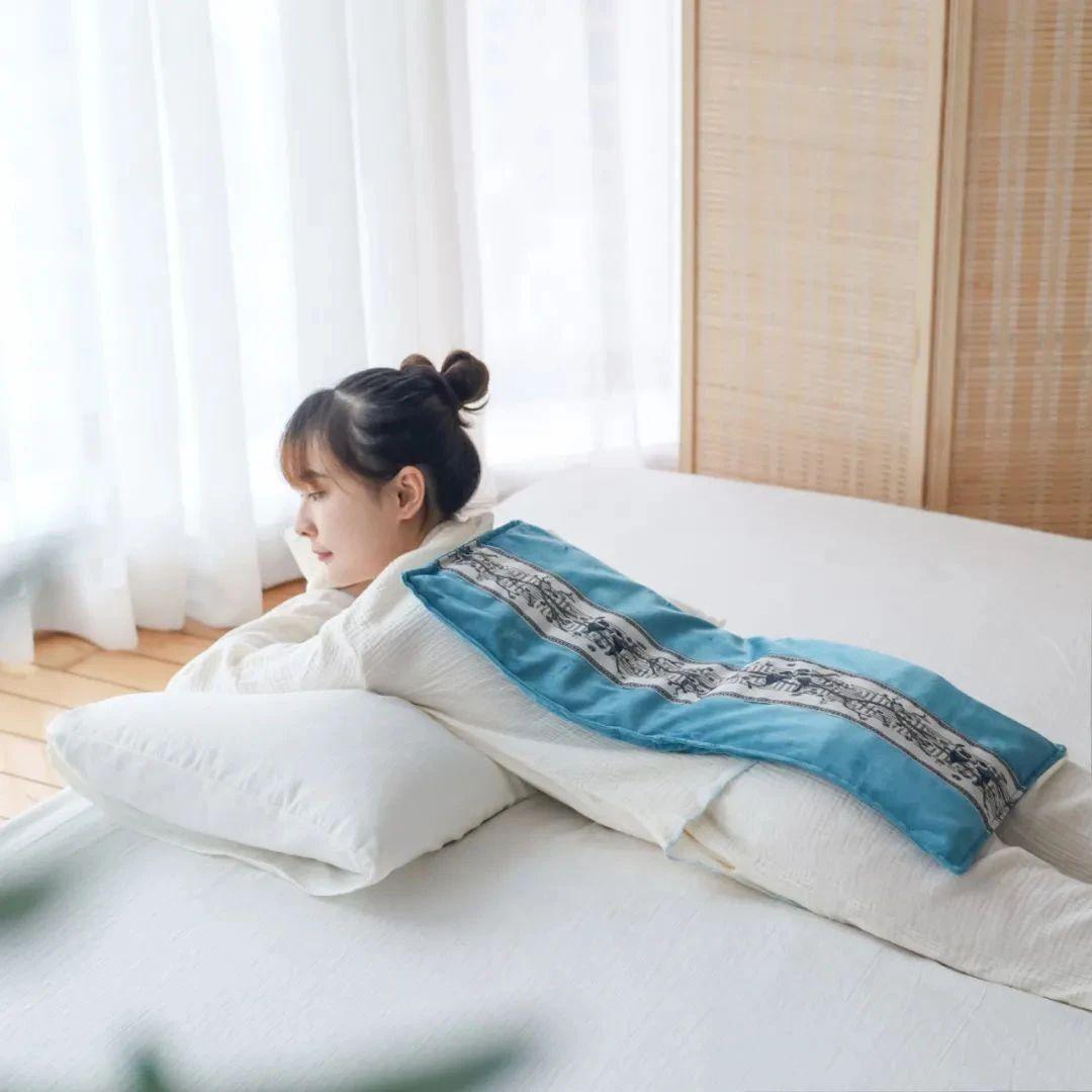 一个海盐热敷袋,舒缓湿寒体质!秋冬不怕冷,夜里睡得香!