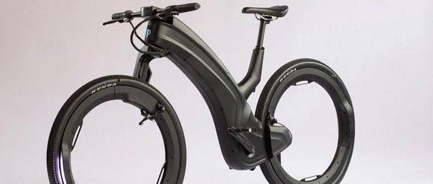 """一辆从科幻电影中走出来的""""未来""""电动自行车"""