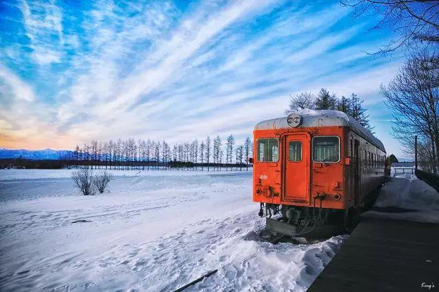 新疆下大雪了,看雪後的火車如何馳騁,畫面太美!