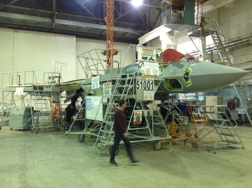 俄媒:苏-57将生产数百架,或将在2030年前成为俄军航母舰载机