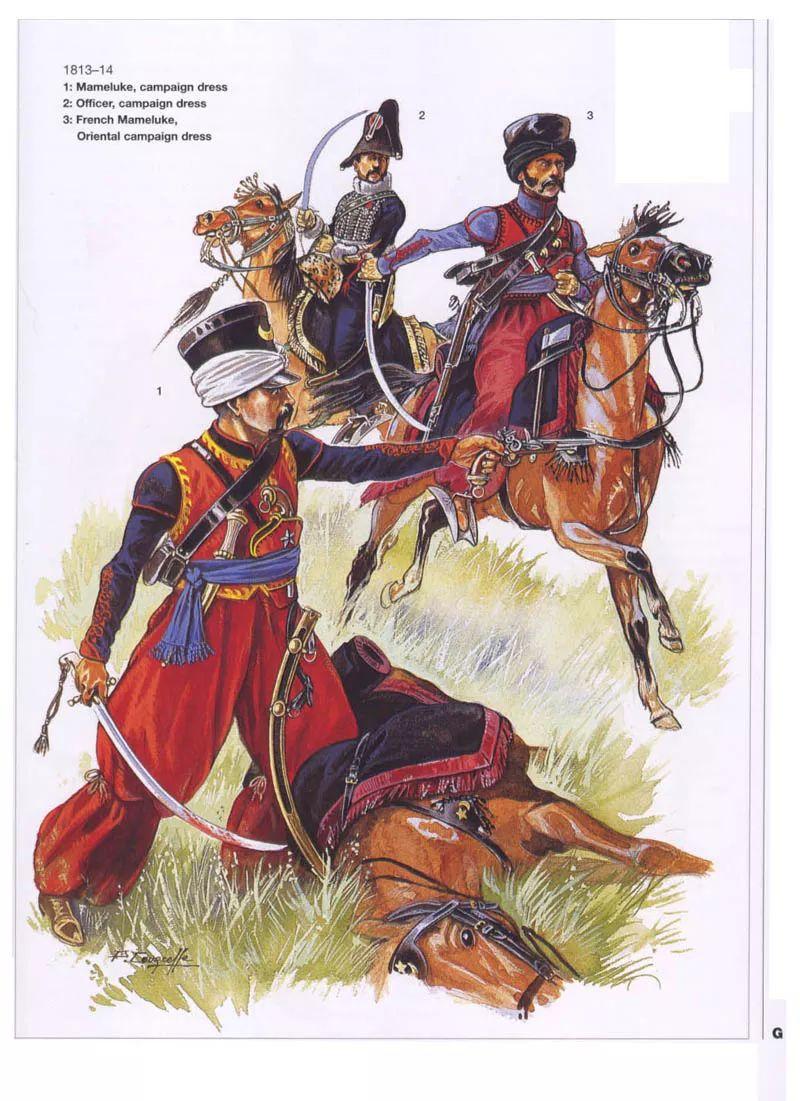 美女骑兵先锋_这些枪骑兵的残余在这一时期服役于帝国卫队的第3(先锋)侦察团.