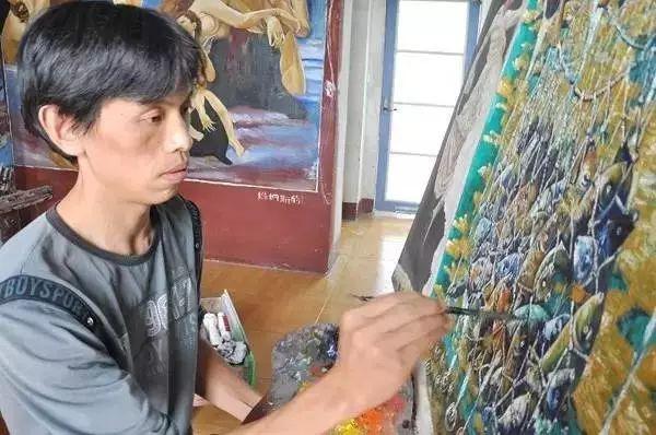 一位农民画展,作品被抢空,震惊画坛!