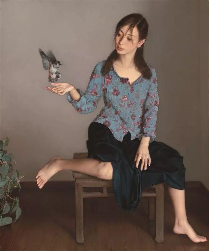 31幅中国天价经典写实油画,你更喜欢哪一幅?