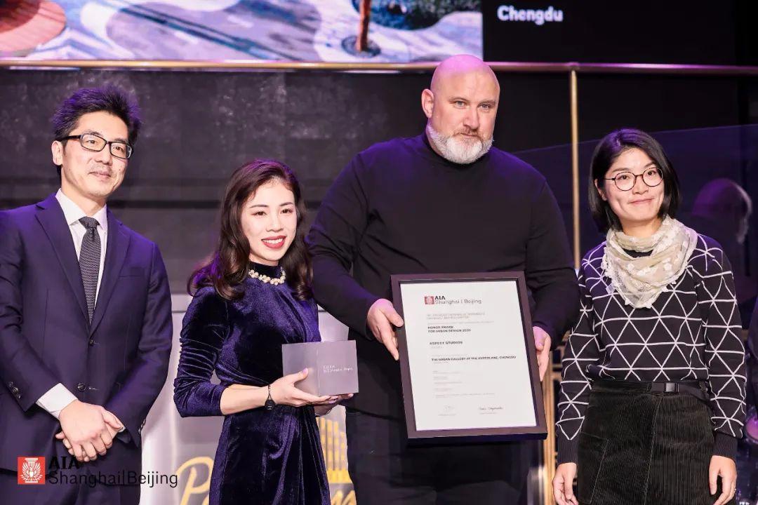 喜讯 |  成都Hyperlane超线公园: 荣获2020 AIA最高荣誉奖!
