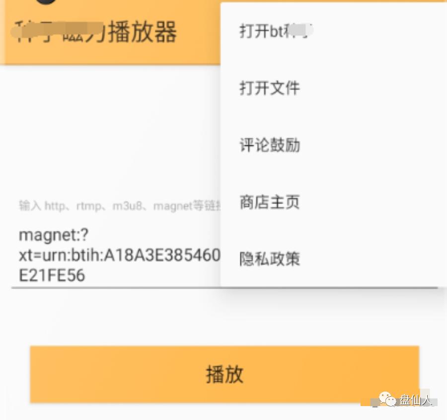 种子磁力播放器,lsp专用软件,支持安卓11系统