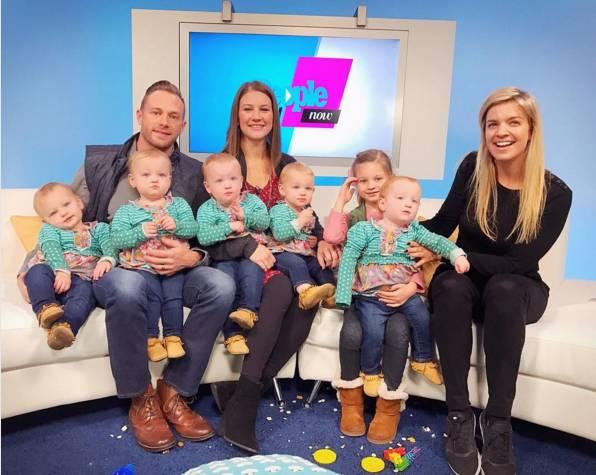 史上最萌五胞胎來襲!他大概是最幸福的人,被7個「情人」愛著!