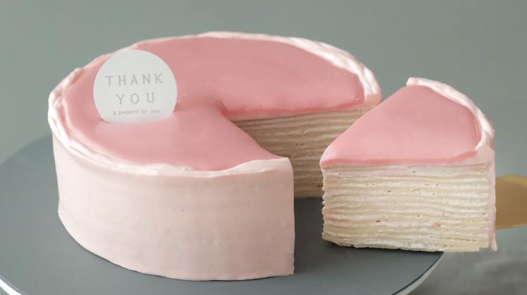 韩国一款千层蛋糕,颜值太高,外面买不到,几步get同款