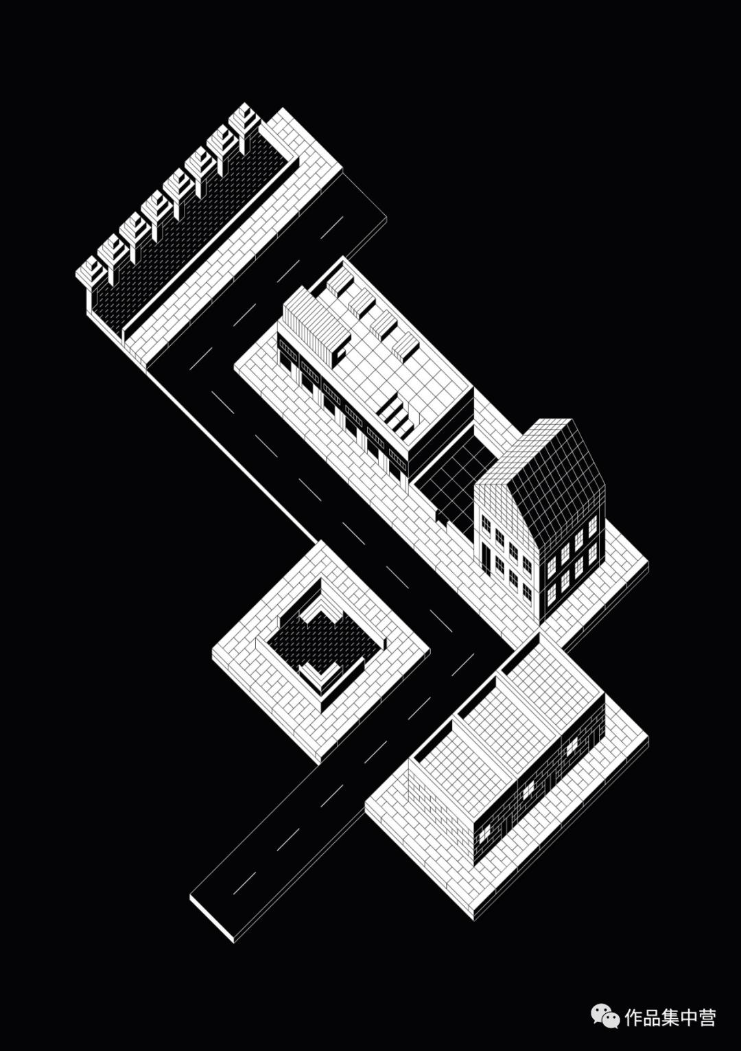 轴测图的魅力 | PeterJudson与AlbertoSartoris的轴测赏析