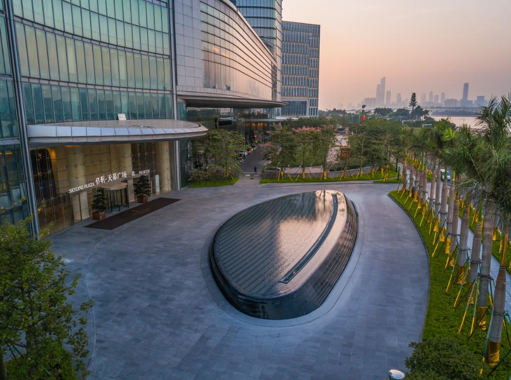 A+低碳丨天幕广场喜提2019年度碳排挑战获奖项目奖杯