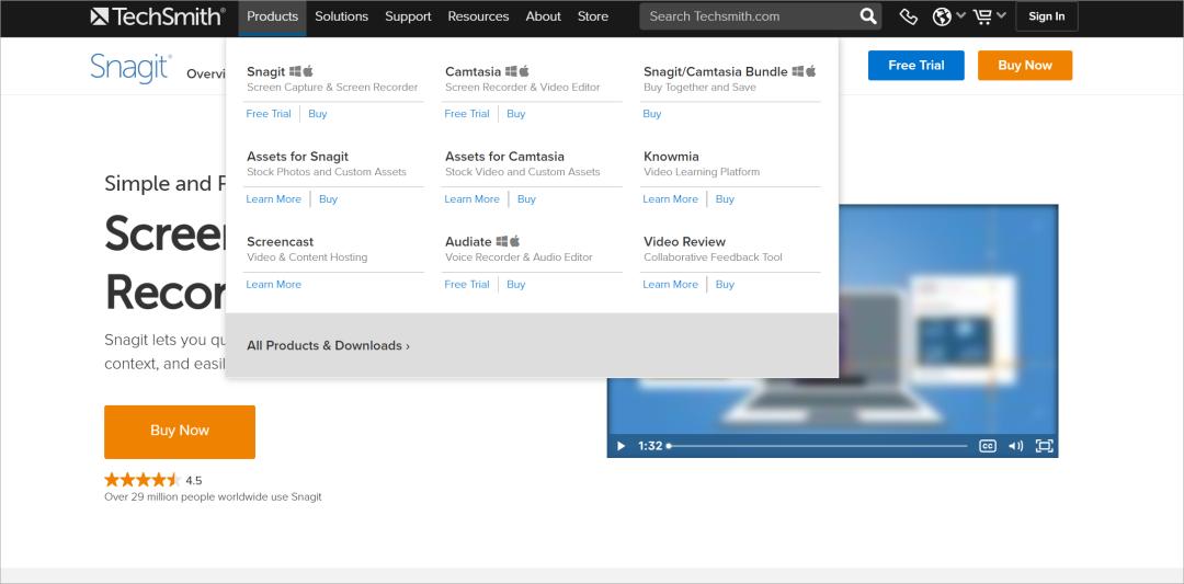 Snagit私藏的Top1截图工具,丰富的标注功能,支持录制视频导出GIF软件 其他软件 第3张