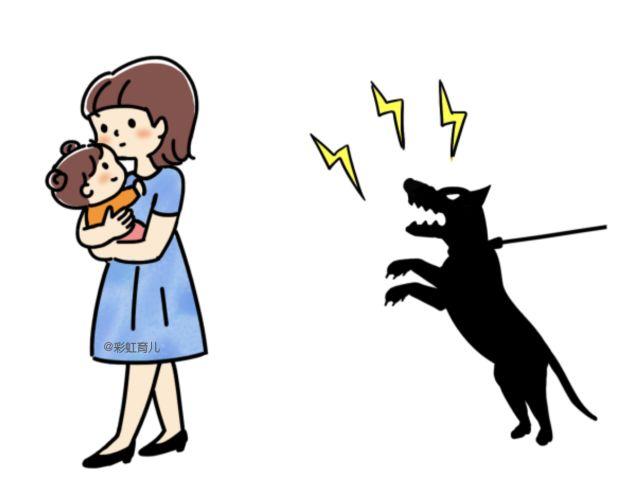 慘!小區內兩條大狗撲來,半歲大寶寶被叼走一頓亂咬