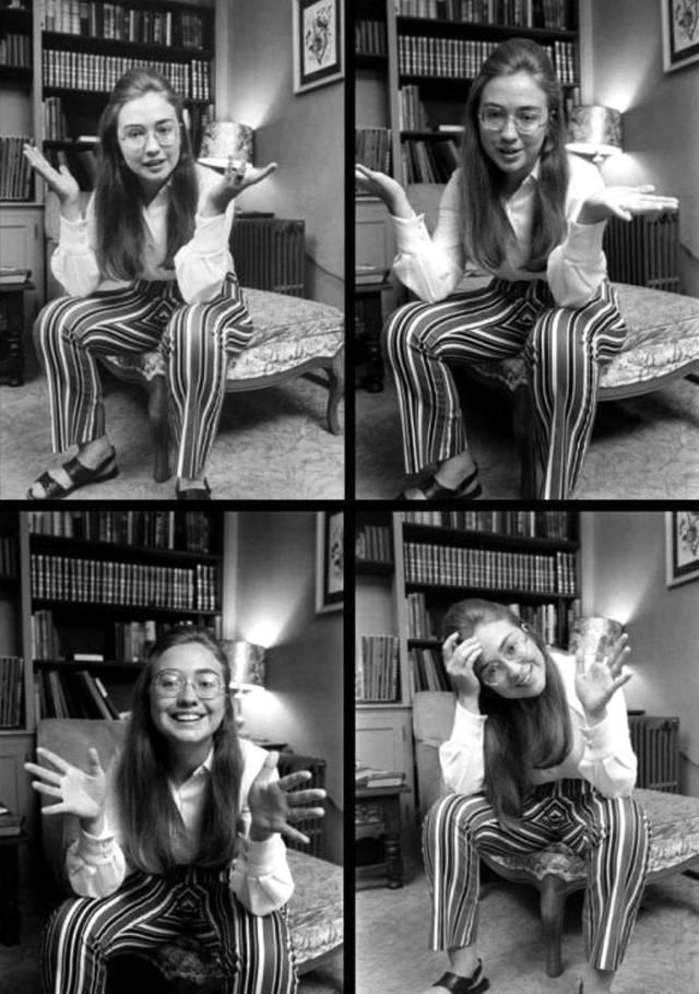 站著的霍金、18歲的希拉蕊、清純的賓拉登,這是朋友圈裡最珍貴的照片!