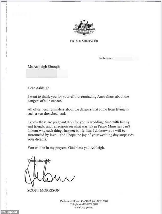 疫情中,一位23岁澳洲姑娘仅持续了11天的婚礼,竟让总理莫里森都动容,亲自写信给她…